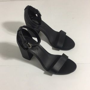 Forever 21 open toed strapped heels